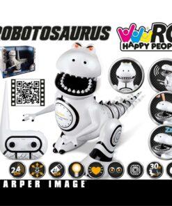 Happy People batteridrevet legetøjsrobot Robosaurus 25 cm