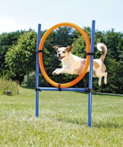 TRIXIE agilityring til hunde 115×3 cm plastik 3208