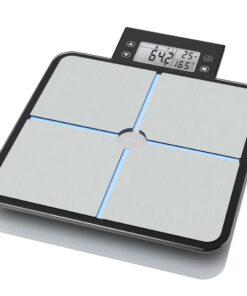 Medisana kropsanalysevægt BS 460 sort og sølvfarvet