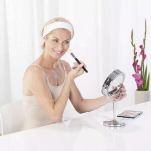 Medisana 2-i-1 kosmetikspejl CM 840, belyst