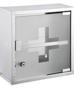 HI medicinskab 30 x 12 x 30 cm rustfrit stål