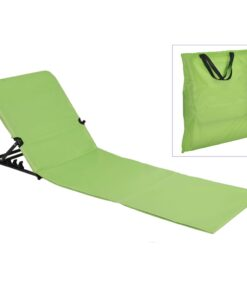 HI foldbar strandmåttestol PVC grøn