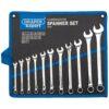 Draper Tools metrisk kombinationsnøglesæt 11 dele sølv 29545