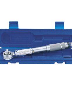Draper Tools momentnøgle 3/8″ skraldefunktion sølvfarvet 34570