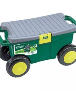 Draper Tools haveredskabsvogn og sæde 56 x 27,2 x 30,4 cm grøn 60852