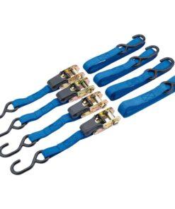 Draper Tools fastgørelsesbånd med skralde 4 stk. 250 kg 60965