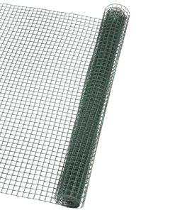 Nature firkantet trådnet til haven 10×10 mm 1×3 m grøn