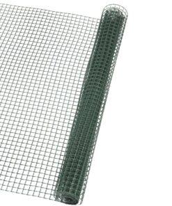 Nature firkantet trådnet til haven 20×20 mm 1×3 m grøn