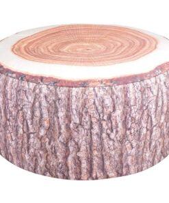 Esschert Design udendørs oppustelig marokkopude BK014, træstammedesign