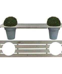 Esschert Design plantebænk 180 cm NG71