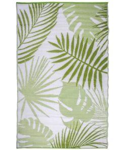 Esschert Design udendørs havetæppe 241 x 152 cm jungleblade OC22