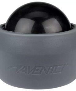 Avento massagebold med holder grå og sort