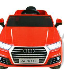 vidaXL elektrisk kørbar bil Audi Q7 rød 6 V