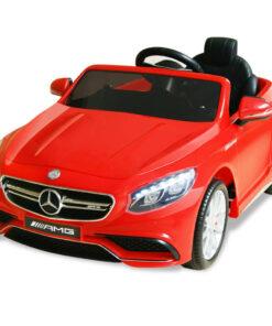 vidaXL elektrisk kørbar bil rød 12 V Mercedes Benz AMG S63