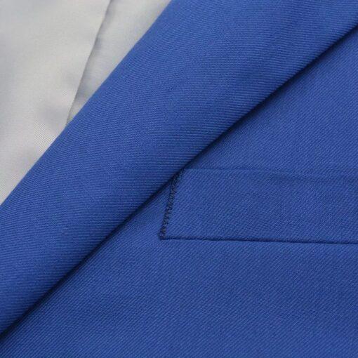 vidaXL jakkesæt til mænd kongeblå str. 50