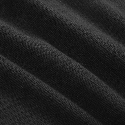 vidaXL pulloversweater til mænd rund hals sort L
