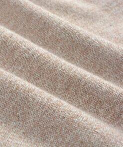 vidaXL pulloversweater til mænd rund hals beige L