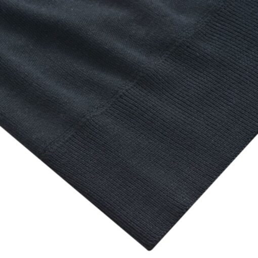 vidaXL herresweater pullover V-hals marineblå L