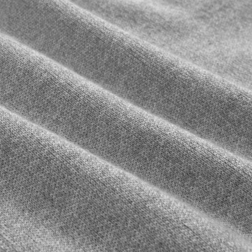 vidaXL herresweater pullover V-hals grå L