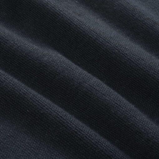 vidaXL herresweater pullover med lynlås marineblå L