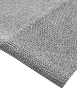 vidaXL herresweater pullover med lynlås grå M