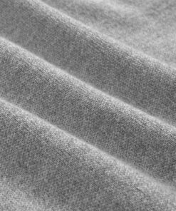 vidaXL herresweater pullover med lynlås grå L