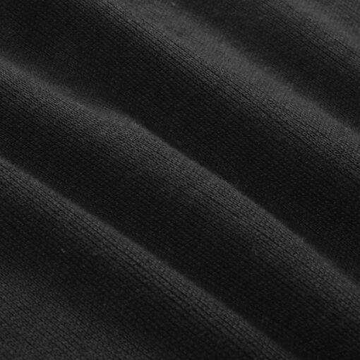 vidaXL herresweater pullover med lynlås sort M