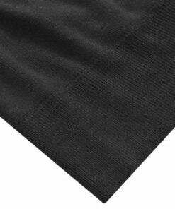 vidaXL herresweater pullover med lynlås sort L