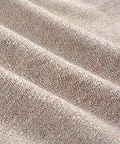 vidaXL herresweater pullover med lynlås beige XL