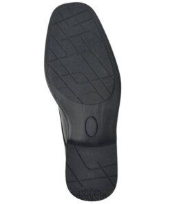 vidaXL sorte herre snøresko til businesssko størrelse 42 PU-læder