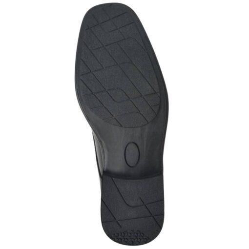 vidaXL herre business snøresko sort størrelse 43 PU-læder