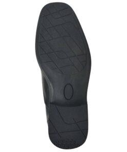 vidaXL hyttesko/loafers til herrer størrelse 41 PU-læder sort