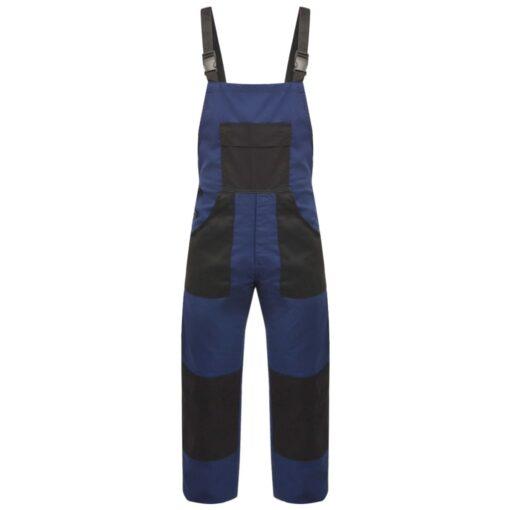 vidaXL Bib overalls til mænd str. M blå