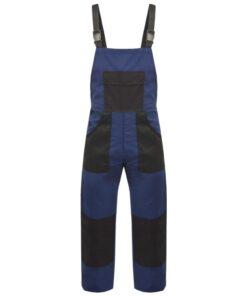 VidaXL Bib overalls til mænd str. L blå