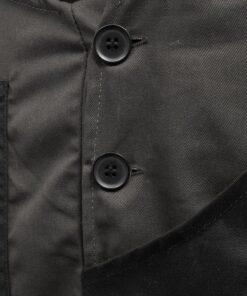 VidaXL Bib overalls til mænd str. XL grå