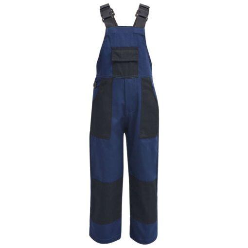 vidaXL Bib overalls til børn størrelse 146/152 blå