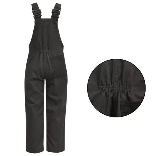 vidaXL Bib overalls til børn størrelse 98/104 grå