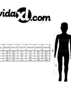 VidaXL overall til børn str. 98/104 grå