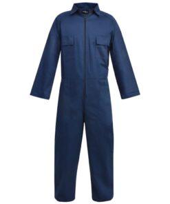 vidaXL overalls til mænd str. L blå