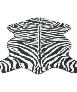vidaXL formet tæppe 70×110 cm zebraprint