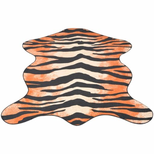 vidaXL tæppe i facon 70 x 110 cm tigerprint