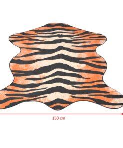 vidaXL tæppe i facon 150 x 220 cm tigerprint