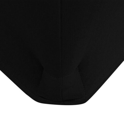 vidaXL stræk-bordbetræk 2 styk 243x76x74 cm sort