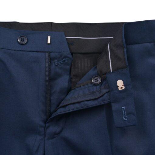 vidaXL Smokingsæt/Black Tie middagssæt i to dele størrelse 50 marineblå