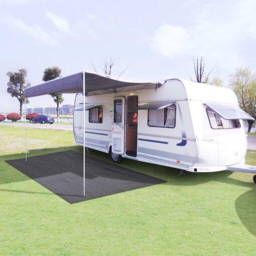 vidaXL telttæppe 250 x 200 cm antracitgrå