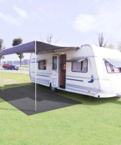 vidaXL telttæppe 250 x 500 cm antracitgrå