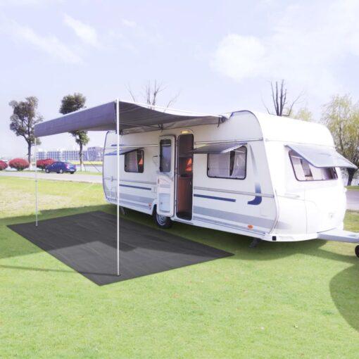 vidaXL telttæppe 300 x 600 cm antracitgrå