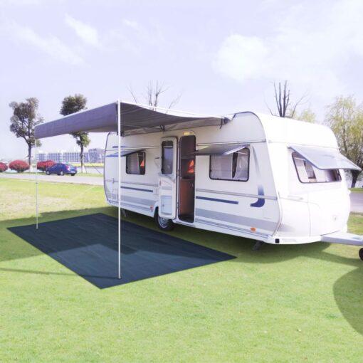 vidaXL telttæppe 250 x 300 cm blå