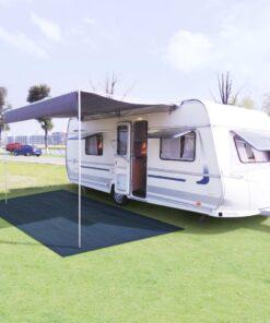vidaXL telttæppe 250 x 500 cm blå