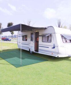 vidaXL telttæppe 250 x 400 cm grøn